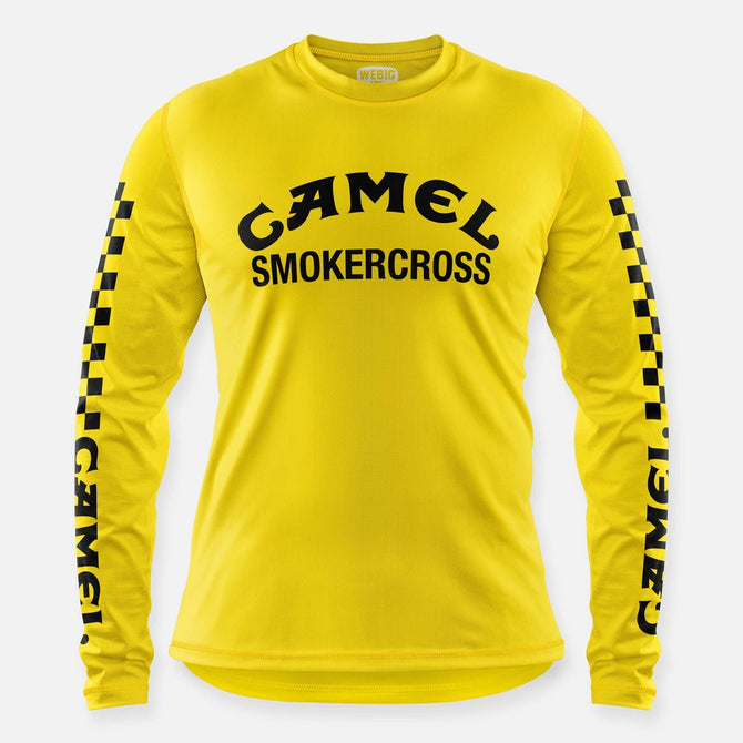 CAMEL SMOKERCROSS JERSEY YELLOW