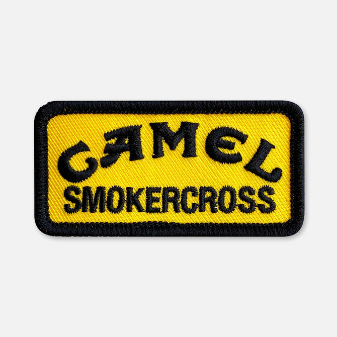 SMALL SIZE CAMEL SMOKERCROSS PATCH