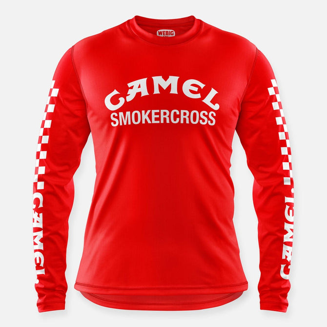 CAMEL SMOKERCROSS JERSEY RED