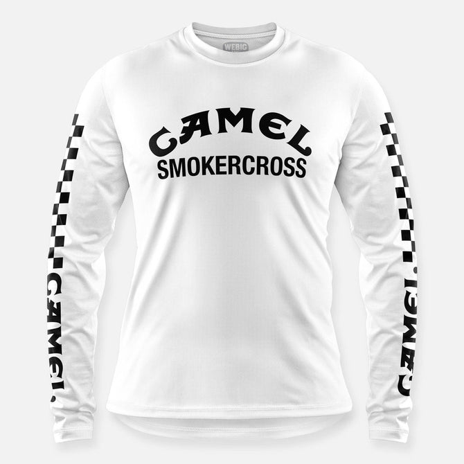 CAMEL SMOKERCROSS JERSEY WHITE