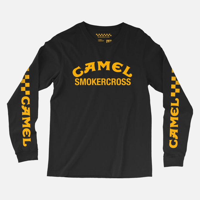CAMEL SMOKERCROSS LONG SLEEVE TEE