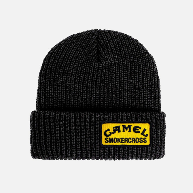 CAMEL SMOKERCROSS PATCH BEANIE