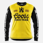 BANQUET JERSEY YELLOW-BLACK