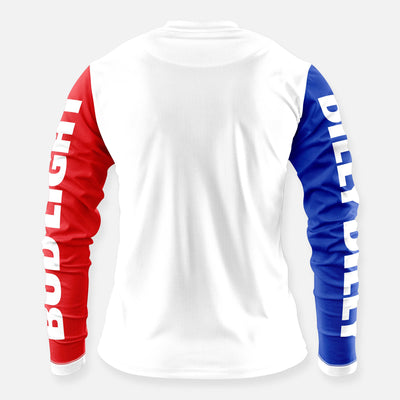 DILLY DILLY RACE TEAM JERSEY RED WHITE & BLUE