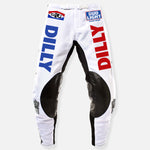 DILLY DILLY RACE TEAM PANT RED WHITE & BLUE