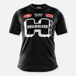 HELLRAISER BIKE JERSEY BLACK