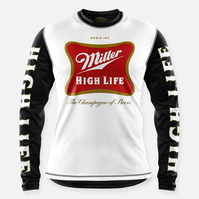HIGH LIFE JERSEY WHITE-BLACK
