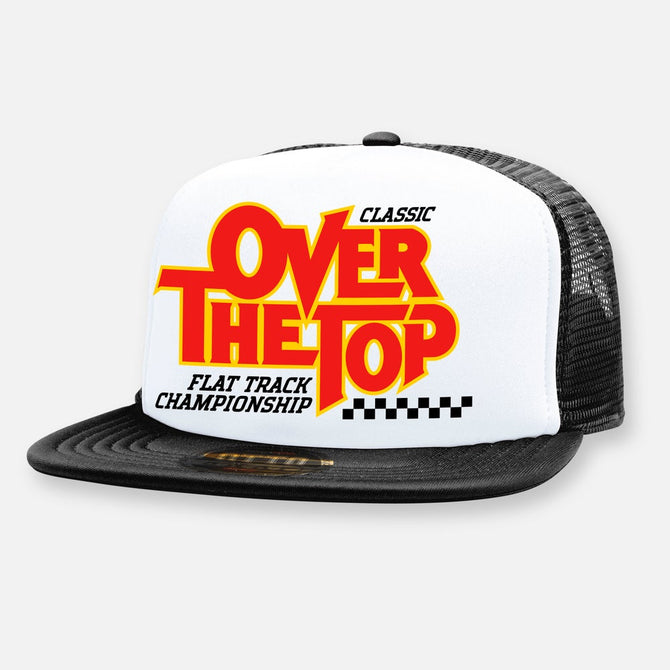 OVER THE TOP FLAT TRACK HAT