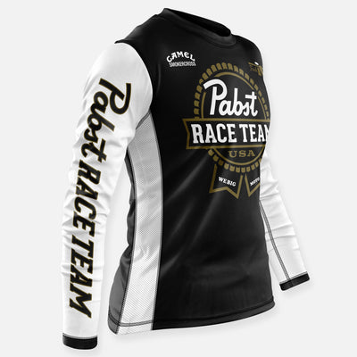 PBR RACE TEAM JERSEY BLACK-WHITE-GOLD