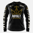 ROYAL-T x WEBIG JERSEY BLACK