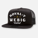 ROYAL-T x WEBIG HATS BLACK