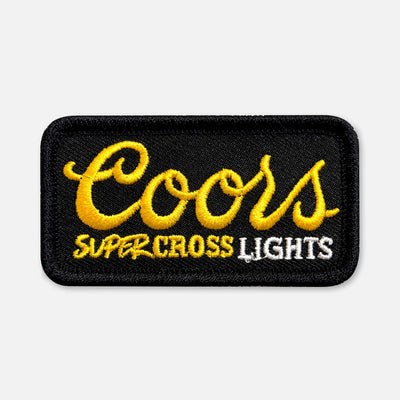 SMALL SIZE SUPERCROSS LIGHTS PATCH