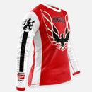 SCREAMIN CHICKIN JERSEY RED-WHITE