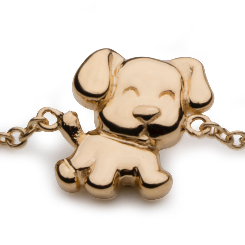 Dog Bracelet in 18K Gold