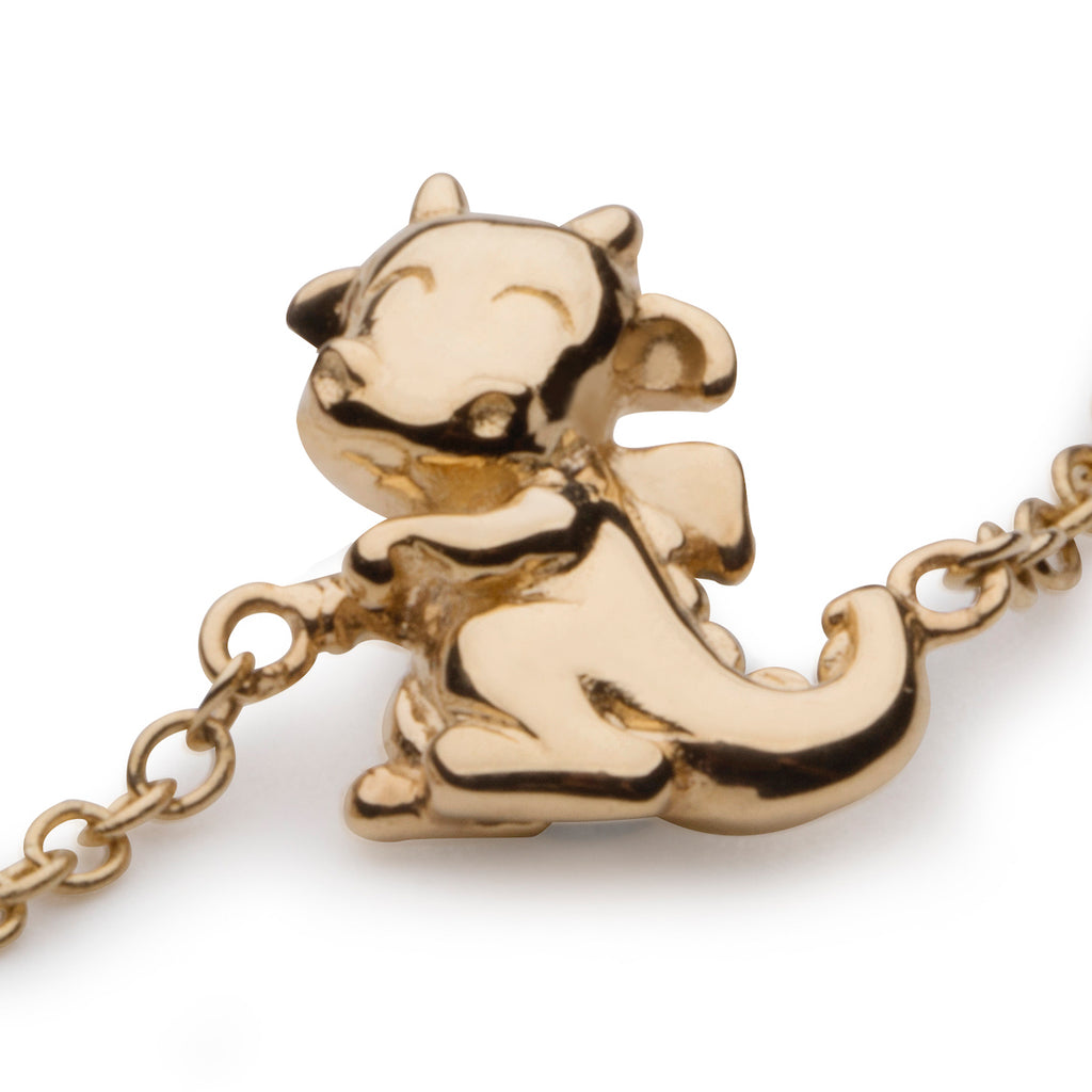 Dragon Bracelet in 18K Gold