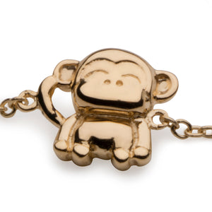 Monkey Bracelet in 18K Gold