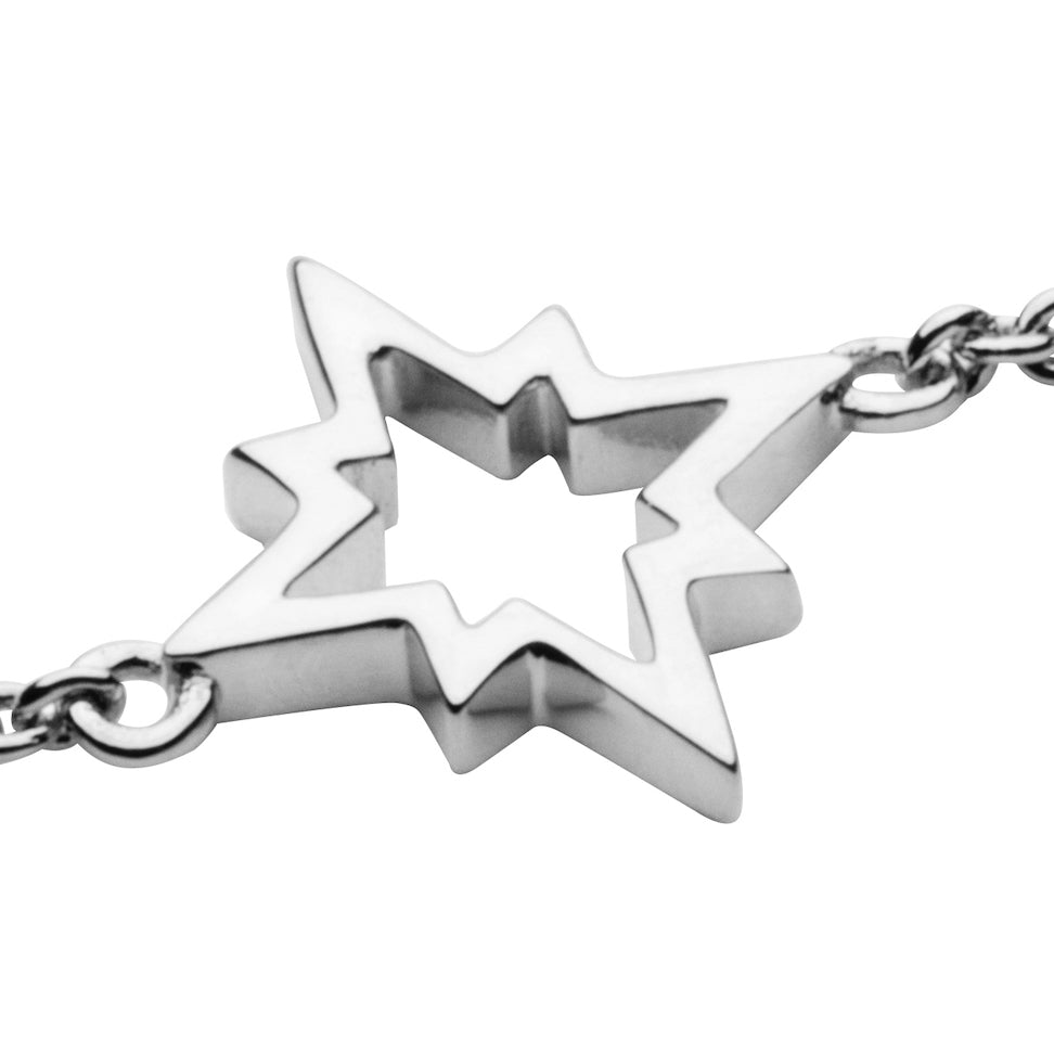 North Star Bracelet in 925 Sterling Silver