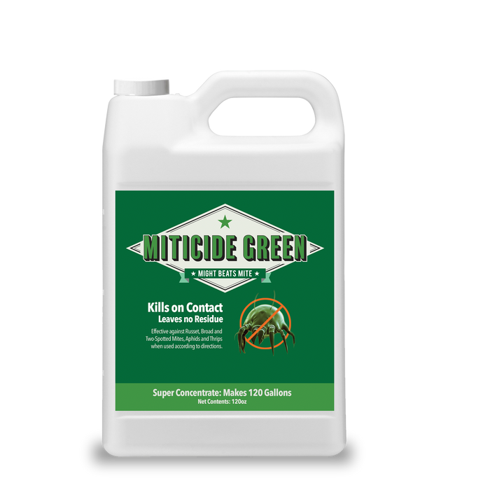 Miticide Green 120 oz. (makes 120 gallons)