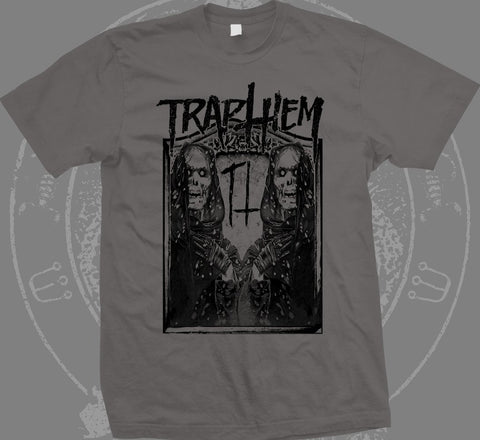 TRAP THEM Ghost Reapers Charcoal Shirt - SALE