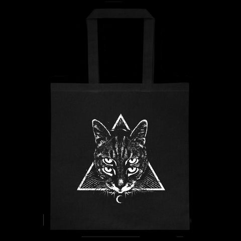 CAT MAGIC PUNKS Four Eyes Tote Bag - SALE