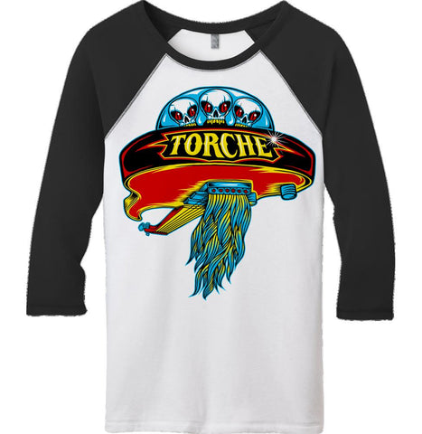 TORCHE Boston 3/4 Sleeve Raglan Shirt - SALE