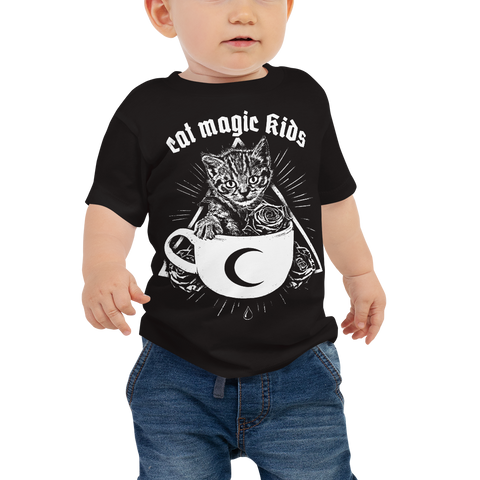 CAT MAGIC KIDS Kitty Cup Baby Shirt