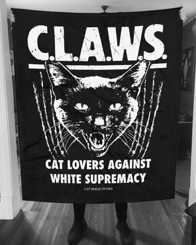 CAT MAGIC PUNKS CLAWS Blanket