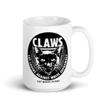 CAT MAGIC PUNKS CLAWS Mug - Circle Logo