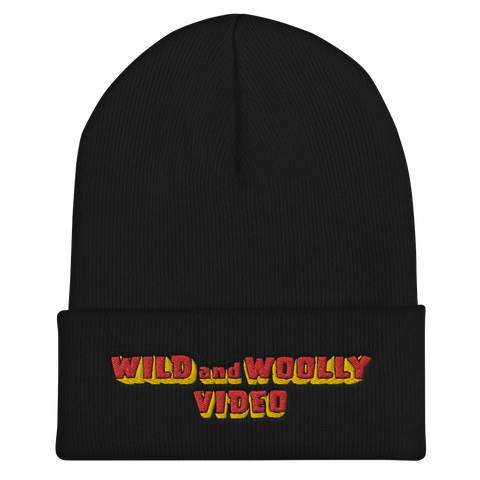 WILD AND WOOLLY VIDEO Beanie