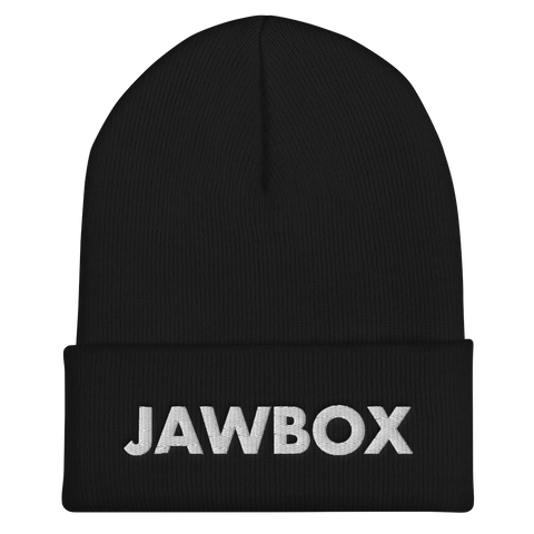 JAWBOX Embroidered Beanie