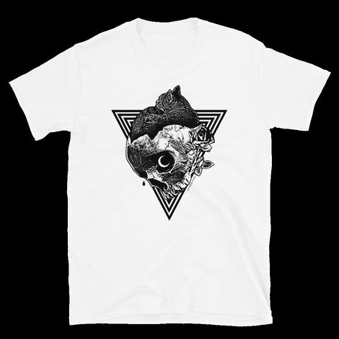 CAT MAGIC PUNKS Comfort White Shirt - SALE