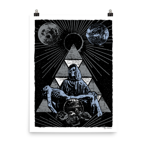 RYAN PATTERSON Holy Cosmos Art Print