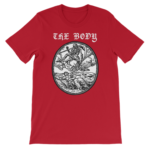 THE BODY Red Skeleton Shirt