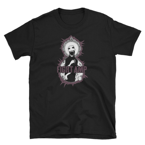 FIGHT AMP Purple Zombie Shirt
