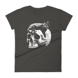 CAT MAGIC PUNKS Willie Skull Women's Shirt