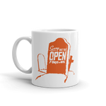 RYAN PATTERSON Sorry We're Open Mug