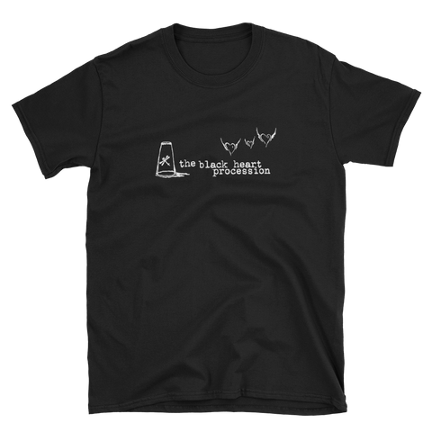 BLACK HEART PROCESSION Glass Hearts Shirt
