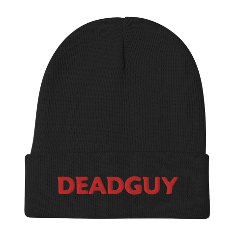 DEADGUY Logo Embroidered Beanie