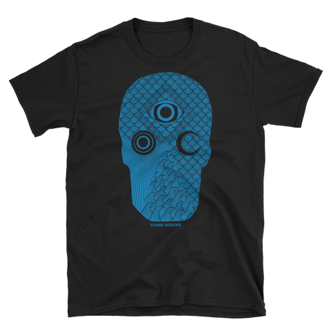 YOUNG WIDOWS Easy Pain Skull Shirt