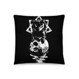 CAT MAGIC PUNKS Babylon Throw Pillow