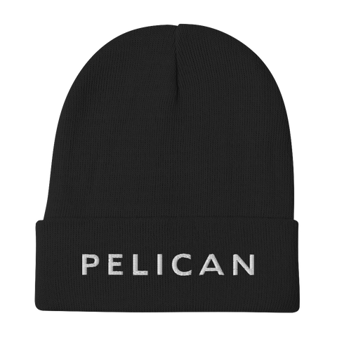 PELICAN Logo Embroidered Beanie