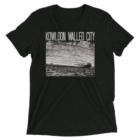 KOWLOON WALLED CITY Sea Tri-blend Shirt