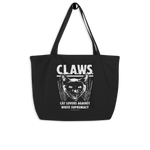 CAT MAGIC PUNKS CLAWS Large Tote Bag