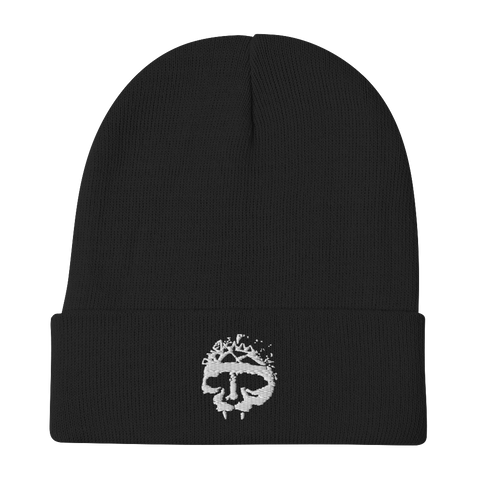 INTEGRITY Skull Embroidered Beanie
