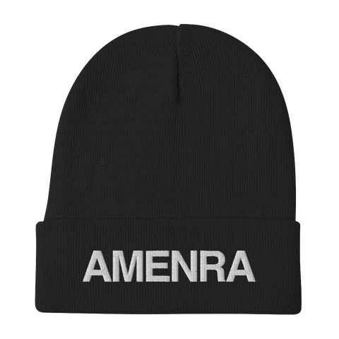 AMENRA Embroidered Beanie