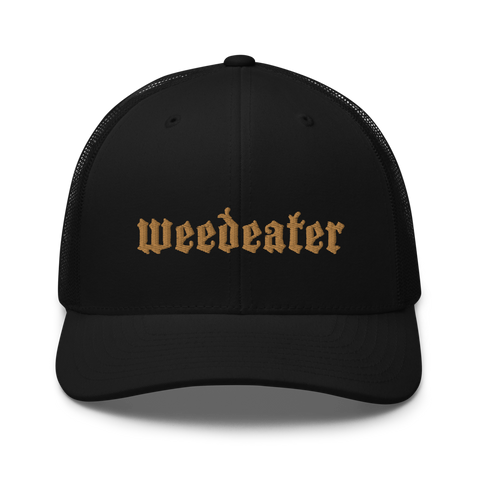 WEEDEATER God Luck Logo Trucker Cap