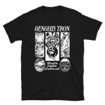 GENGHIS TRON Relief Black Shirt