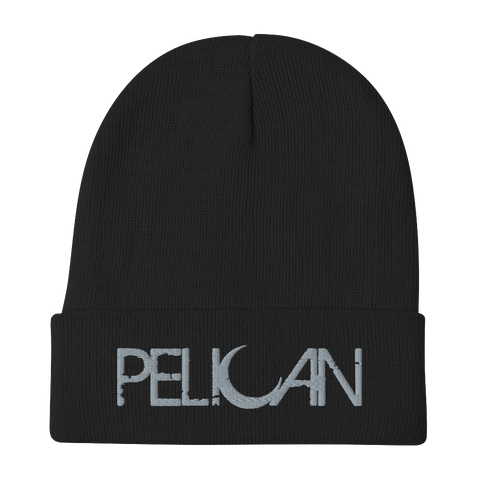 PELICAN Moon Logo Embroidered Beanie