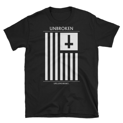 UNBROKEN White Flag Shirt