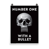 "STEALWORKS Number One With A Bullet 18x24"" Art Print"